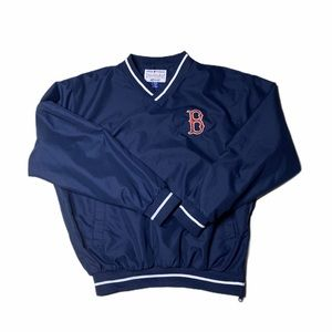 BOSTON RED SOX LONG SLEEVE PULLOVER SIZE S